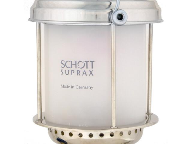Petromax 500 Glas - mate gris/blanco